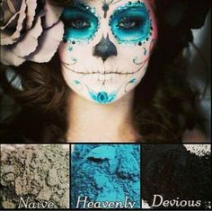 Halloween Makeup using Younique's Cosmetics!