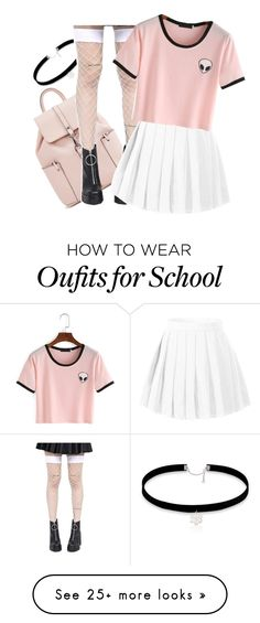""""""""""" by maiiira-nair on Polyvore featuring Leg Avenue"""