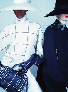 Jiyoung Kwak, Herieth Paul, Helena Greyhorse by Erik Madigan Heck for Harper's Bazaar UK August 2014