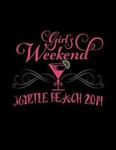 The front of my Girls Weekend shirt Girls Weekend Quotes, Girls Weekend Shirts, Shirts For Girls, Girls Vacation, Girls Getaway, Girlfriends Getaway, Travel Shirts, Vacation Shirts, Miami Girls