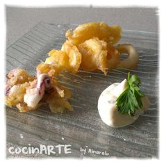 Txipis en tempura