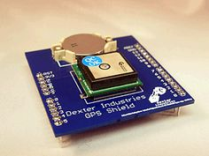 Arduino GPS Shield - Dexter Industries