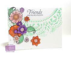 Dana Warren -Kraft Paper Stamps - Crafter's Companion
