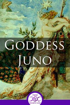 Goddess Juno is the Queen of the Gods in Roman Mythology. Jupiter's wife and sister, Juno does not have an exact origin, it is only known that she is one of the oldest Roman deities, having records dating from the fifth century BCE. Greek Mythology Tattoos, Greek And Roman Mythology, Greek Gods And Goddesses, Japanese Mythology, Juno Goddess, Triple Goddess, Juno Jupiter, Pagan Music, Sacred Feminine