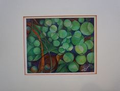 abstract grapes - watercolor and color pencil  | eBay