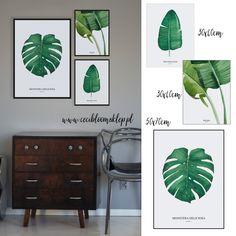 Zestaw plakatów botanicznych Tropiki 3szt Ceci Bloom Botanical Art