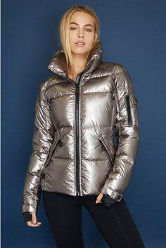 5444def9e6e ANDI JACKET. Puffy JacketShiny LeggingsDown CoatRain WearJacket StyleStay  WarmFur CoatJackets For WomenWinter Outfits
