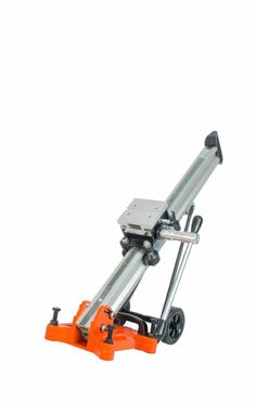 "Cayken Aluminum Diamond Core Drill Rig Stand Quick Adjustable Angle, 4.5"" Wheels for Easy Portability: Amazon.com: Industrial & Scientific"