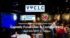 Mark your calendar on April 8th for a night filled with hilarious jokes, good company, and most importantly a good cause at Yuk Yuk's Vancouver! Net proceeds will be going to Covenant House Vancouver.