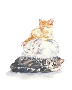 Hoi! Ik heb een geweldige listing op Etsy gevonden: https://www.etsy.com/nl/listing/175192673/kat-aquarel-print-5-x-7-print-cat-nap