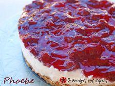 Το πιο εύκολο και γρήγορο cheesecake #sintagespareas Greek Desserts, Party Desserts, Greek Recipes, Easy Cheesecake Recipes, Sweets Recipes, Cooking Recipes, Sweet Cooking, Cream Cheese Recipes, Recipes From Heaven