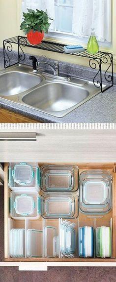 10 Super Brilliant Ways To  Organize Your Kitchen