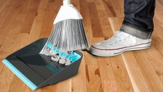 Broom Groomer Broom Cleaning Dustpan | Quirky