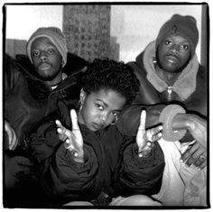 The Fugees: Wyclef Jean, Lauryn Hill and Pras Michel