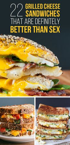22 Grilled Cheese Sandwiches