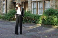 Fall Trend: The Black Flare Pants http://paarjoyeriamexicana.blogspot.co.uk/2013/09/fall-trend-black-flare-pants.html