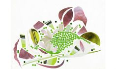 12 Alain Passard Collages and Dishes by (image 7) - BLOUIN ARTINFO , The Premier…