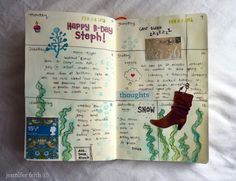 Sketchbook Journal - February