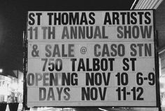 The show is over but we're still here! Follow us on Facebook too and stay in touch with us here throughout the year. #artsteag #stthomasproud #localartistspotlight #localartistsupport Instagram News, Instagram Posts, St Thomas, Local Artists, Saints, Touch, Facebook, Day