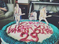 Blink 182 b-day cake