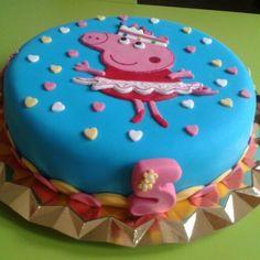 Pepa Pig cake Girl Birthday, Birthday Parties, Birthday Cake, Pig Cakes, Baby Party, Peppa Pig, Little Miss, Party Time, Fondant