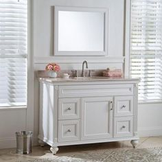 Home Decorators Collection Annakin 48 in. Vanity Cabinet Only in Cream-CLSD4821-CR - The Home Depot