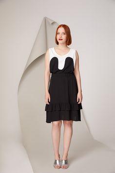 Photographer: Paavo Lehtonen Model: Vera Ignatius Different Styles, Cold Shoulder Dress, Comfy, Formal Dresses, Classic, Skirts, Model, Tops, Fashion