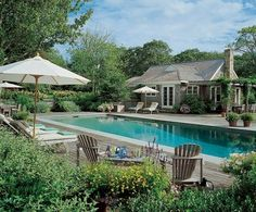 This Martha's Vineyard guest cottage was shingled in keeping with the main house   archdigest.com