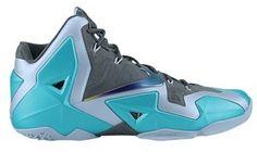 cheaper 278a4 1c3ed Nike LeBron XI - Men's - Basketball - Shoes - Armory Slate/Light Armory Blue