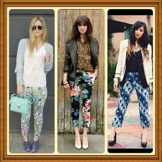 Printed Pants Chic by Jen's Fashion Book, via Flickr