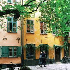 Our beloved Old Town. #gamlastan #visitstockholm