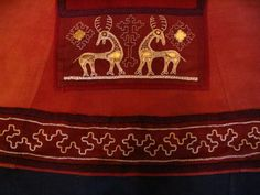 Birka silver embroidery interpretation by Ekaterina Savelyeva, Amazingly well done! http://vk.com/photo70752970_169446297