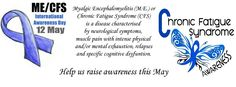 May 12 is International ME/CFS Awareness Day
