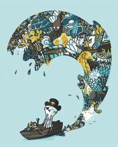 Underwater Treasures | Illustrator: Maxim Cyr
