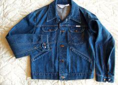 Vintage Wrangler No Fault Denim Jean Jacket by ChondashersApparel, $29.00