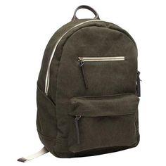 The Zip Backpack Military  / Everlane