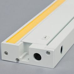 "Tech Lighting Unilume LED Under Cabinet Bar Light Finish: White, Bulb Color Temperature: 930K, Size: 1.3"" H x 13.2"" W x 3.7"" D"