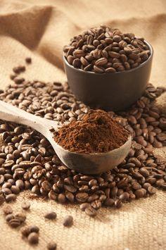 Heavenly coffee beans
