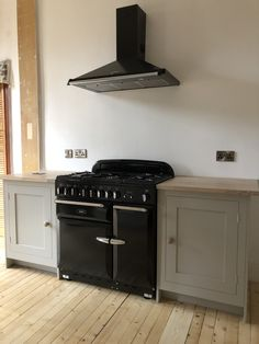 During: painted oven run units - paint used: Johnstone's Trade eggshell, colour-matched to Farrow & Balls' Purbeck Stone. Kitchen Units, Kitchen Cabinets, Purbeck Stone, Eggshell, Farrow Ball, Edinburgh, Balls, Oven, The Unit
