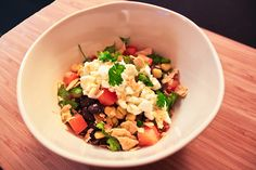Healthified Black Beam Burrito Bowl  Like the seasonings.  Prefer to go with Greek Yogurt and Quinoa