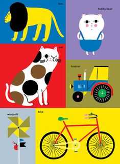fab children's books by designer Aino-Maija Metsola. Aino-Maija is a best known for her work with Marimekko with whom she has collaborated since 2006.print & pattern
