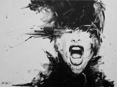 """Saatchi Online Artist David Scholes; Painting, """"La obsesión """" #art"""