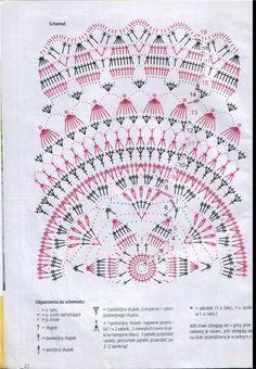 Kira scheme crochet: Scheme crochet no. Crochet Stitches Chart, Crochet Mat, Crochet Doily Diagram, Crochet Mandala Pattern, Crochet Circles, Crochet Home, Thread Crochet, Filet Crochet, Crochet Doilies