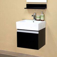 "Mason 21"" Single Wall-Mounted Bathroom Vanity Set"