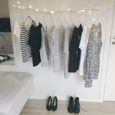 Organização: arara de roupas - VilaMulher