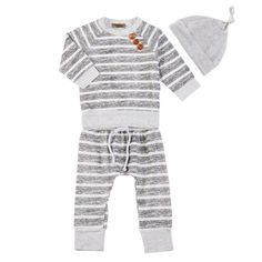 2017 Baby Clothing Sets Autumn Baby Boys Clothes Infant Striped Tops T shirt Pants Hat 3pcs. Click visit to buy #BabyBoyClothingSets