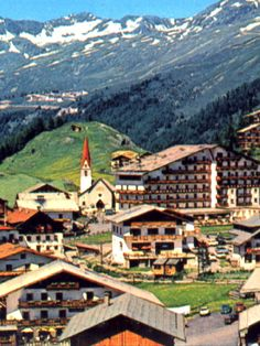 On the 1971 Alpine trip, I stayed in Zirl, Austria and visited Obergurgl.