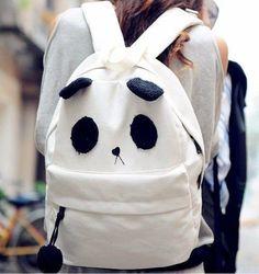 Cute panda backpack