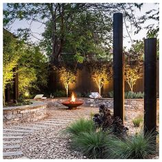 """Master Landscapers Victoria on Instagram: """"Hands up if you're thinking it's the perfect Saturday night to stoke up the fire pit? Especially if it looks as good as this one from…"""""""