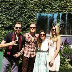 Danny, Tom, Gi and Georgia